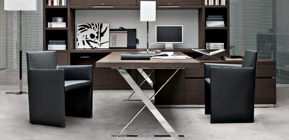 scrivania direzionale ac executive di b b design antonio citterio. Black Bedroom Furniture Sets. Home Design Ideas