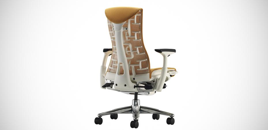 Embody poltrona per ufficio di herman miller design e - Ergonomia sedia ...