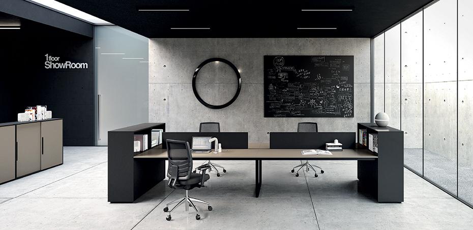 Be 1 scrivanie operative ufficio di frezza design for Scrivanie operative ufficio