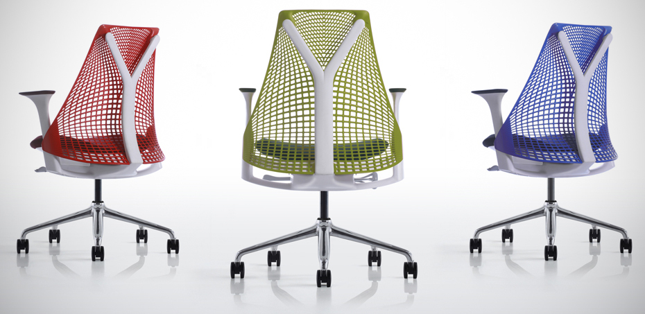 Sedia per Ufficio Sayl chair di Herman Miller: un ponte ...