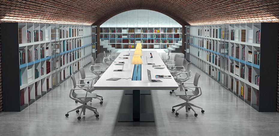 Scrivania operativa design han di martex scrivaniadesign for Scrivanie operative ufficio