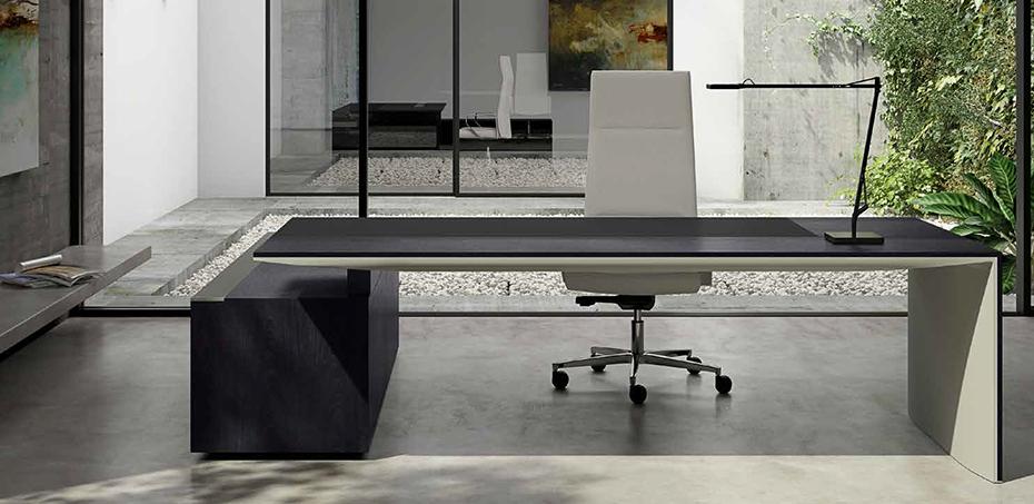 Scrivania tradizionale oyster di ora office design for Scrivania design