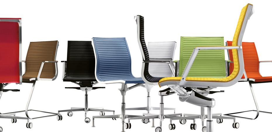 Seduta per ufficio resistente ed accogliente nulite di for Sedute da ufficio