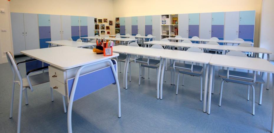 Tavoli e banchi a norma per la scuola dell 39 obbligo for Arredi per biblioteche