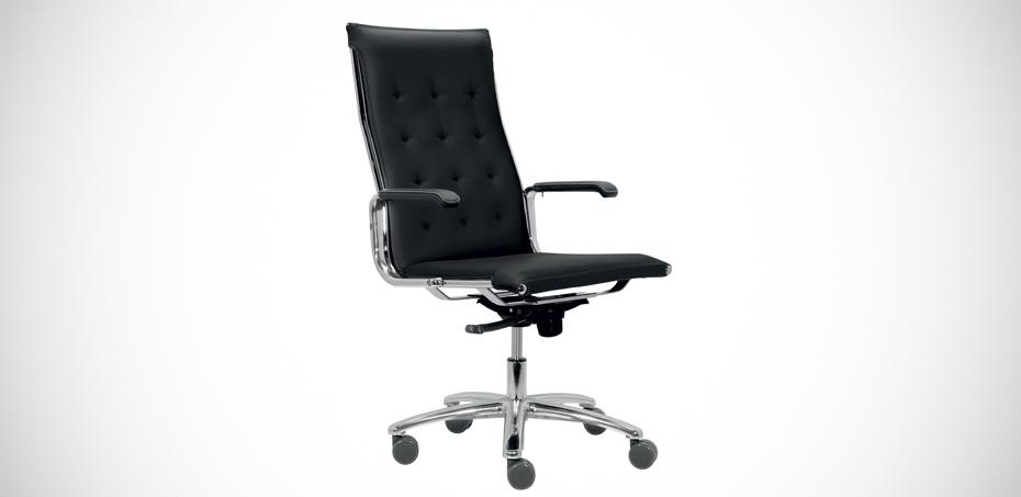 Poltrona ufficio design taylord di luxy for Design sedia ufficio