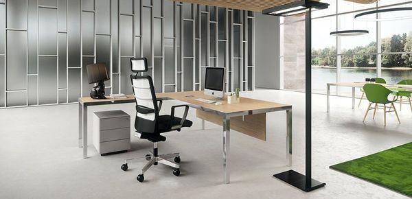 Scrivania in vetro le scrivanie in cristallo scrivaniadesign - Scrivania cristallo ufficio ...