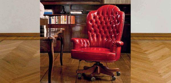 Poltrone Classiche Ufficio Sedie E Poltrone In Pelle In Stile Tradizionale
