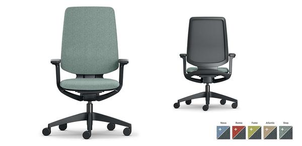 Sedie E Poltrone Ufficio.Sedie Ufficio Design E Poltrone Manageriali A Norma